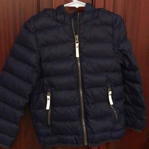 Hanna Anderson thin puffer coat size 4 exc cond